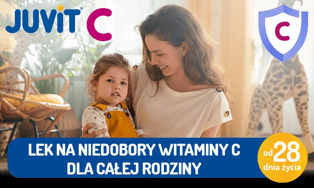 Lek na niedobory witaminy C dla całej rodziny