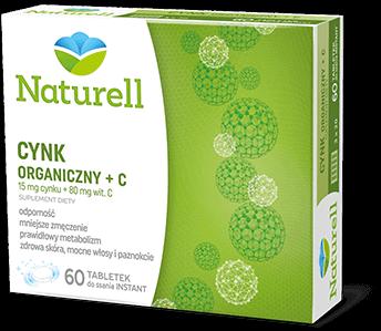 Naturell Cynk Organiczny + C
