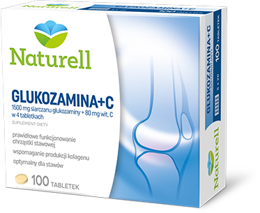 Naturell Glukozamina+C