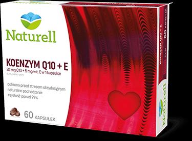 Naturell Koenzym Q10 + E