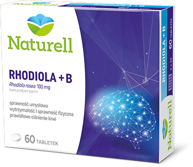 Naturell Rhodiola + B