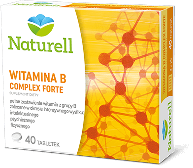 Naturell Witamina BComplex Forte