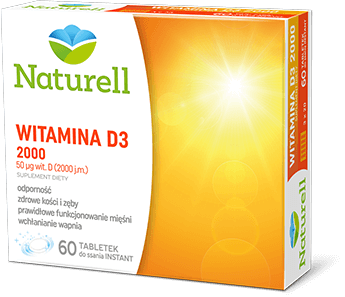 Naturell Witamina D3 2000