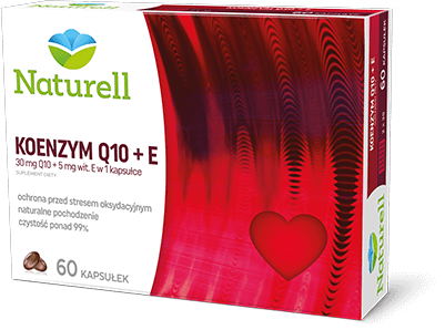 Naturell - Koenzym Q10 + E
